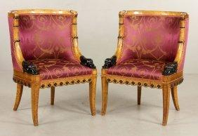 Pr. Biedermeier Style Chairs