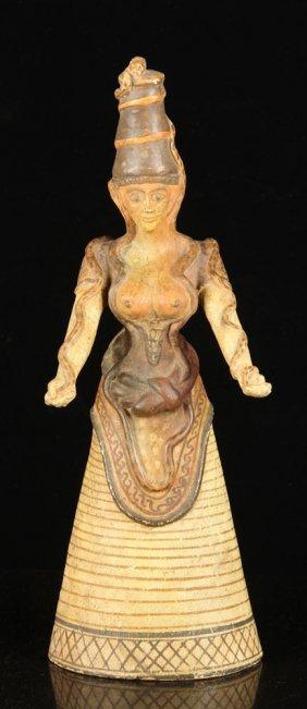 Egyptian Ceramic Figure