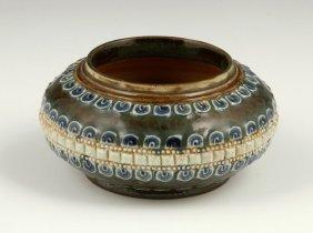 Doulton Lambeth Pottery Vase