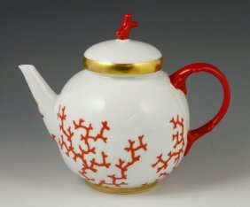 Fitz And Floyd Teapot