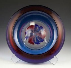 Dkl Studio Art Glass Bowl