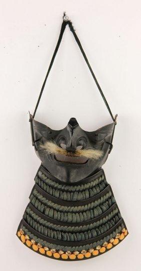 Japanese Bronze Mask