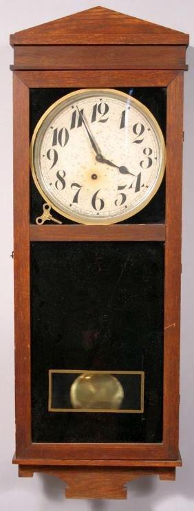 303 E Ingraham Co Of Bristol Ct Wall Clock Lot 303