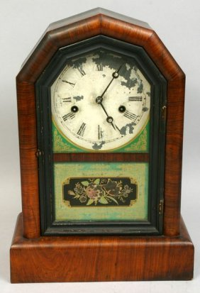 1248 19th C New Haven Clock Co 30 Hour Clock Lot 1248