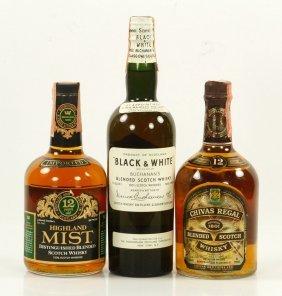 3 Bottles Vintage Scotch Whiskys