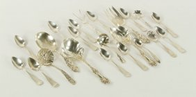Lot Of Silver Flatware