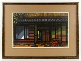 Karhu, Koshihata House, Woodblock Print