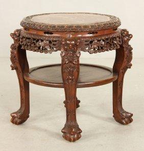19th C. Chinese Teak Wood Table