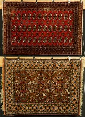 2 Semi Antique Persian Carpets