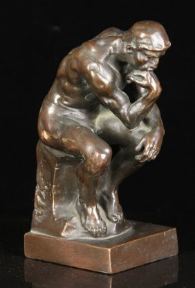 After Rodin, The Thinker, Bronze