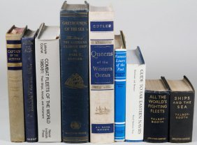 Lot Of Naval Books