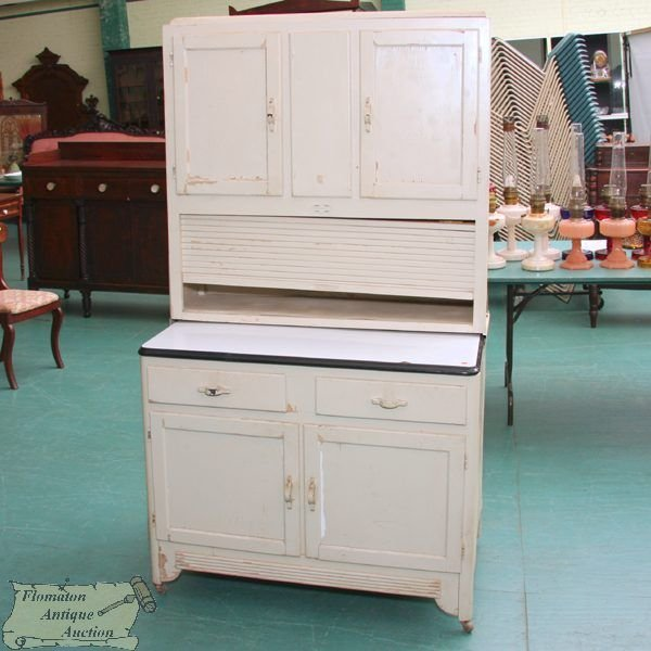 """Art Deco Kitchen Cabinets: 273: Early 1900 Art Deco Kitchen Cabinet, """"Sellers"""" R"""