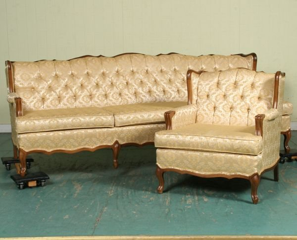 Brand New Antique French Provincial Sectional Sofa Conceptstructuresllc Sc44