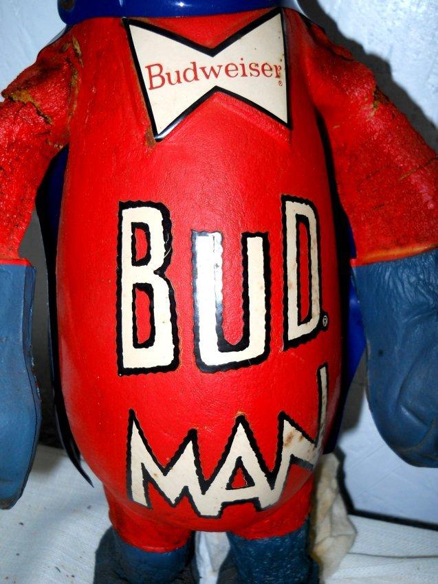 Budweiser Beer Bud Man Doll Lot 86