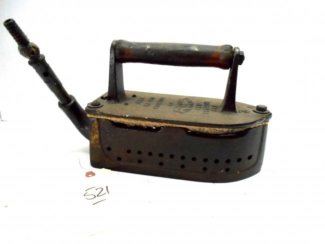 Old Steam Iron ~ Antique steam iron lot
