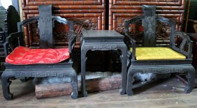 Indian Rosewood Carved Armchair Books