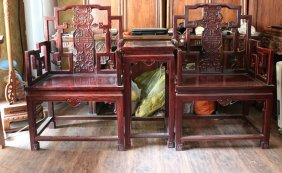 Rosewood Ming-style Armchair