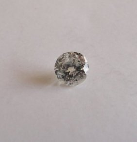"Cert Diamond Round Shape 1.03ct Si3 ""h"""
