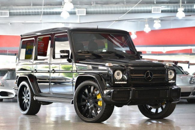 2010 black mercedes benz g class g55 amg 4matic suv lot 126 for Mercedes benz 2010 suv