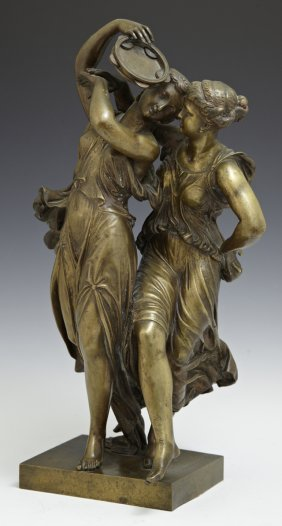 """Henry Etienne Dumiage (1830-1888), """"two Classical"""