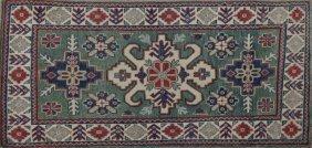 Uzbek Kazak Carpet, 2' 9 X 4' 7.