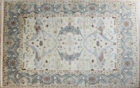 Turkish Angora Oushak Carpet, 8' 3 X 10'.