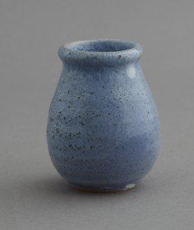 "Newcomb College Art Pottery High Glaze ""ali Baba"" Jar,"