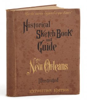 """Book: """"historical Sketch Book And Guide To New Orleans,"""