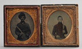 A Pair Of Civil War Photographs,