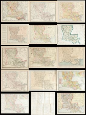 "Group Of Twenty-four Antique Maps, Consisting Of ""the"