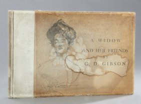 "Book: Charles Dana Gibson, ""a Widow And Her Friends,"""