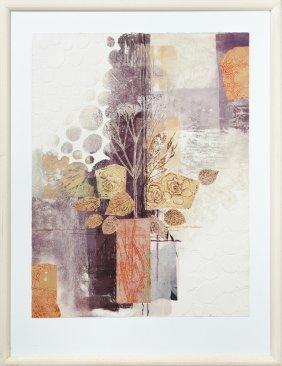 "Irving Amen (1918-2011), ""vase Of Flowers,"" 20th C.,"