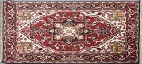 Heriz Carpet, 4' X 6'.