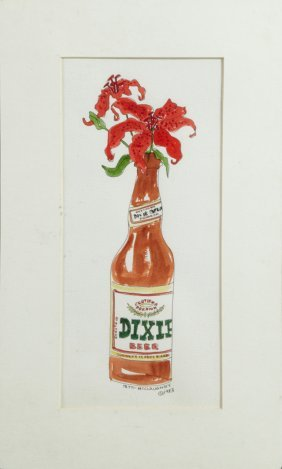 """Tatti Mcclaughry (new Orleans), """"dixie Beer,"""" 1983,"""