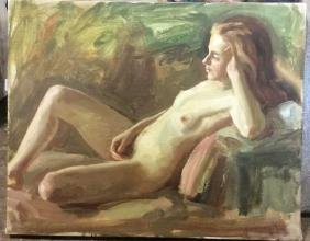 15 A. Wasserman Paintings On Canvas