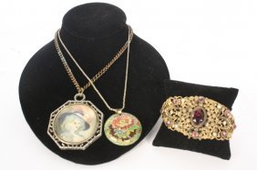 Vintage Jewelry Victorian Group