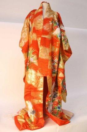 Japanese Ornate Wedding Dress