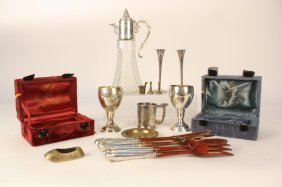 Kiddish Cups And Group Lot Sp