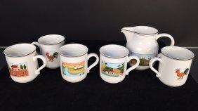 Villeroy & Boch Vitro-porcelain Coffee Set