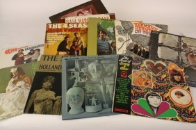 Twelve C1960's Record Albums Of The Times