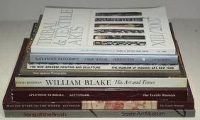 Group Lot Of 8 Art Books
