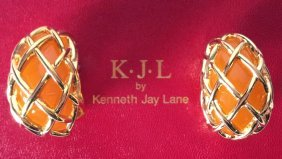 Kjl By Kenneth Jay Lane Earrings Kjl By Kenneth Jay