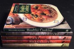 William-sonoma 5 Cook Book Courses William-sonoma 5