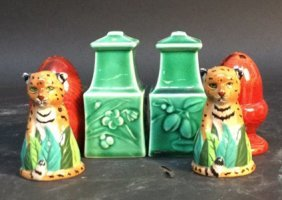 Group Lot Of Salt And Pepper Shakers Pair Of Royal