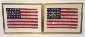 Americana Framed Flag Artwork Americana Framed Flag