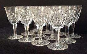 Crystal Wine Glasses Set Of 12 Crystal Wine Glasses Set
