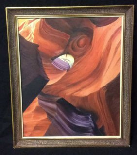 Way Down Under By Shirley A. Myers Oil Painting Titled