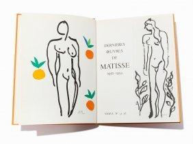 Henri Matisse, Verve Vol. Ix, Nos. 35 & 36, Paris, 1958