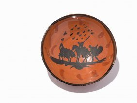 Pablo Picasso, 'picador', Earthenware Bowl, 1953