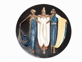Erté (after), 'ladies In Waiting', Bronze, 1922/1990